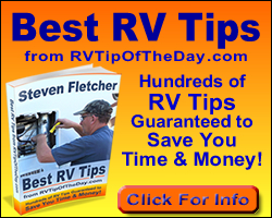 Best RV Tips Book Ad